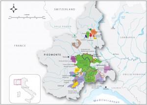 Asti-Brachetto Map
